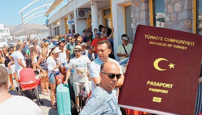 Φέτος αναμένονται δύο εκατομμύρια Τούρκοι τουρίστες στη χώρα μας