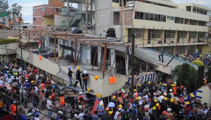 Μεξικό: 32 μαθητές νεκροί από τον σεισμό - Απελπισμένοι γονείς ψάχνουν στα ερείπια του σχολείου (βίντεο)