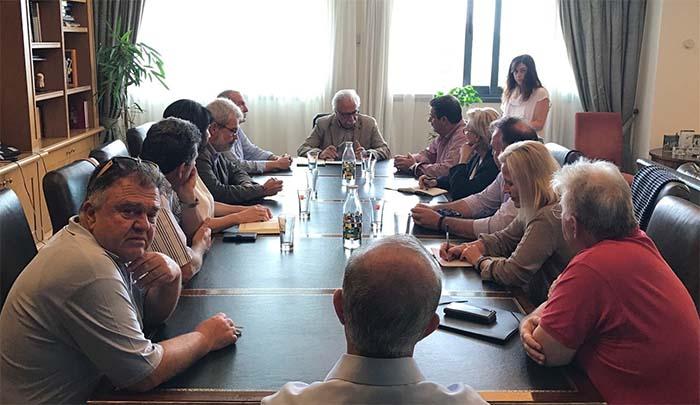 Σε καλό κλίμα η συνάντηση υπουργού παιδείας με τους Σχολικούς Συμβούλους