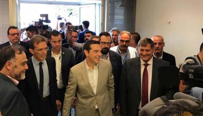 Τσίπρας στη ΔΕΘ: Το μετρό δεν είναι πια ανέκδοτο, μένει να πάρει ο ΠΑΟΚ πρωτάθλημα…