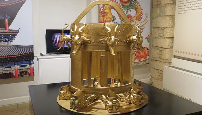 Λάμπρος Κατσούλας: Κινέζικος σεισμογράφος (2ος αἰώνας μ.Χ.)