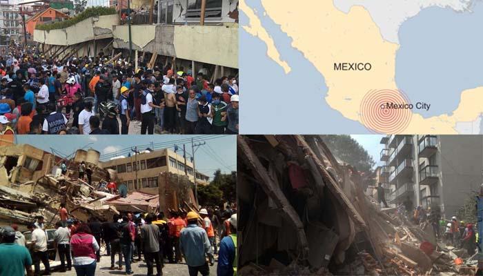 Φονικός σεισμός 7,1 R στο Μεξικό με τουλάχιστον 40 νεκρούς