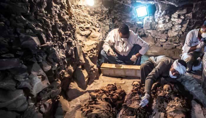 Ανακαλύφθηκε πρόσφατα νέος φαραωνικός τάφος του 1000π.Χ. στο Λούξορ