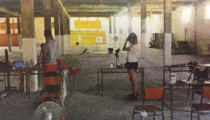 Ντροπή: Η Ολυμπιονίκης σκοποβολής Κορακάκη προπονείται σε εγκαταλειμμένο βιομηχανικό χώρο