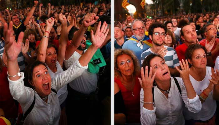 Ο ηγέτης της Καταλονίας «πάγωσε» την ανεξαρτητοποίηση – Έξαλλοι και οι οπαδοί της ανεξαρτησίας
