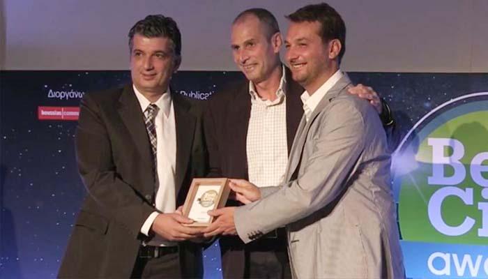 Δήμος Βριλησσίων: Τρία βραβεία για τον Δήμο Βριλησσίων στο πλαίσιο των«Best City Awards 2017»