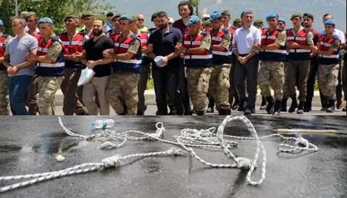 Ισόβια για τους 42 πραξικοπηματίες που αποπειράθηκαν να ανατρέψουν την κυβέρνηση Ερντογάν