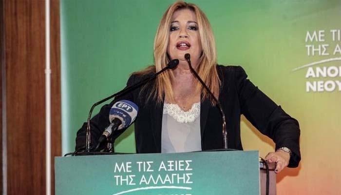 Φώφη Γεννηματά: Δεν καταλαβαίνω από τις επιθέσεις ΣΥΡΙΖΑ, ΝΔ, ΑΝΕΛ - Οπρωθυπουργό να «προσγειωθεί στην πραγματικότητα