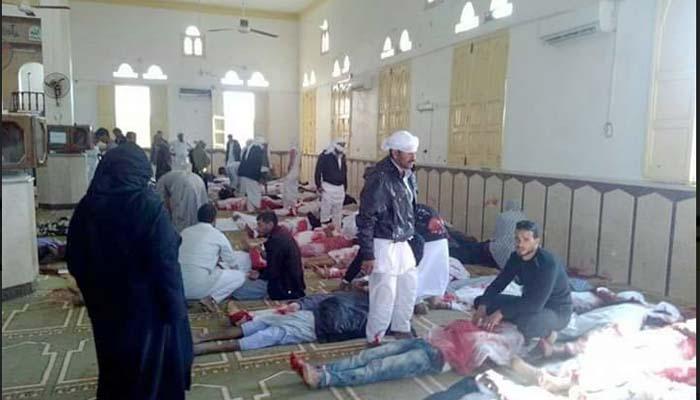 Λουτρό αίματος στο βόρειο Σινά, την ώρα της προσευχής, με 223 νεκρούς