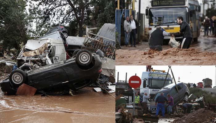 Έφτασαν στους 14 οι νεκροί από τις φονικές πλημμύρες στη Δυτική Αττική