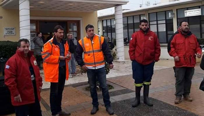 O Δήμος Βριλησσίων στο πλευρό των πληγέντων του Δήμου Μάνδρας-Ειδυλλίας