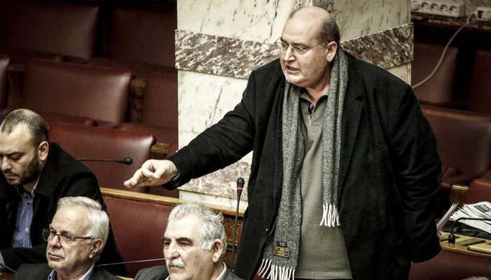 Αποστάσεις από τον Καμμένο και στη Βουλή πήρε ο Νίκος Φίλης για τη συμφωνία για την πώληση των βλημάτων