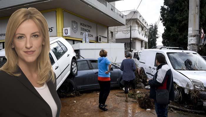 Η Περιφερειάρχης κ. Δούρου δήλωνε το 2014 ότι χρειάζεται 6 μήνες για τα αντιπλημμυρικά, που δεν έγιναν!