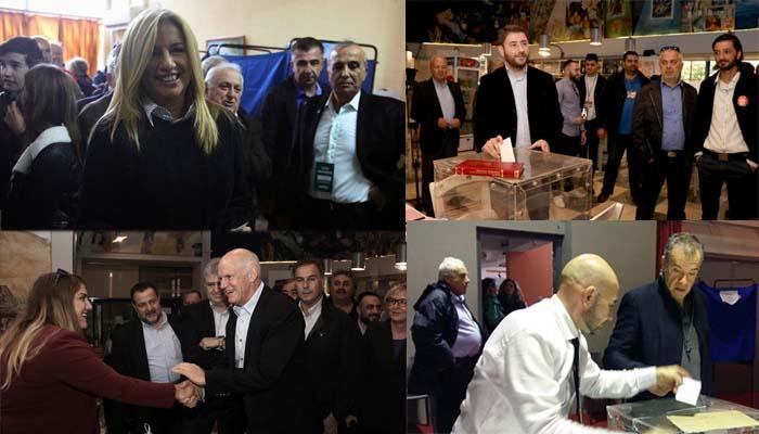 Μεγάλη συμμετοχή στο Β' γύρο των εκλογών για την ανάδειξη του επικεφαλής του νέου φορέα της Κεντροαριστεράς