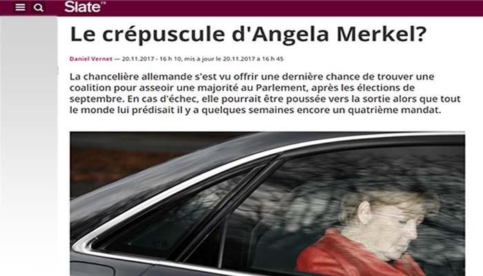 Slate: Το λυκόφως της Άνγκελα Μέρκελ;