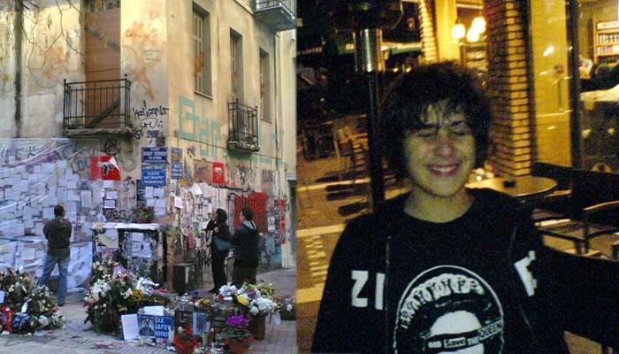 Το βράδυ που δολοφονήθηκε ο Αλέξανδρος Γρηγορόπουλος το Δεκέμβρη του 2008