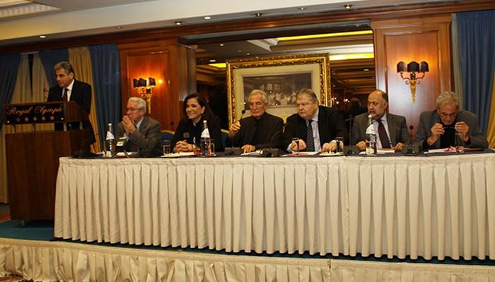 Διακομματικό παρών στην παρουσίαση του βιβλίου «Δρόμοι Αριστεροί» του Σπύρου Λυκούδη
