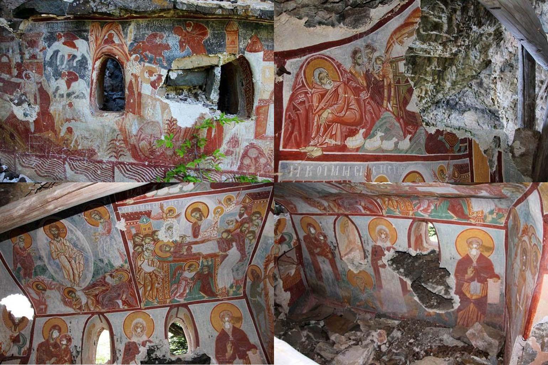 Παναγία Σουμελά Τραπεζούντα: Βρέθηκε τυχαία κρυφό τούνελ που οδηγεί σε παρεκκλήσι