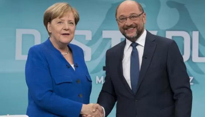 Τα βρήκαν Μερκελ-Σουλτς για τον «μεγαλο συνασπισμο» και πάμε για κυβέρνηση στη Γερμανία!