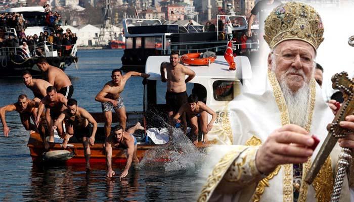 Χιλιάδες πιστοί στο Οικουμενικό Πατριαρχείο για τα Θεοφάνεια στην Κωνσταντινούπολη