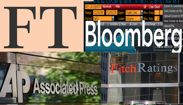 FT, Bloomberg και Associated Press για την αναβάθμιση της ελληνικής οικονομίας από τον οίκο Fitch