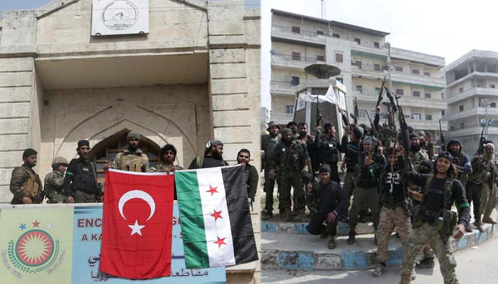 Οι τουρκικές στρατιωτικές δυνάμεις μπήκαν στο Αφρίν