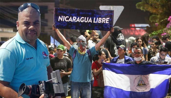 Δημοσιογράφος σκοτώθηκε στη Νικαράγουα την ώρα που μετέδιδε το ρεπορτάζ του