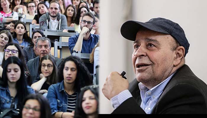 Συγκινητική η ατμόσφαιρα στο τελευταίο μάθημα του Σταύρου Τσακυράκη στη ΝομικήΑθηνών