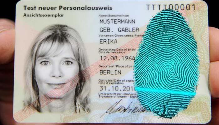Die Welt: Έρχονται ταυτότητες με δακτυλικό αποτύπωμα και βιομετρικά στοιχεία εντολήν της Κομισιόν