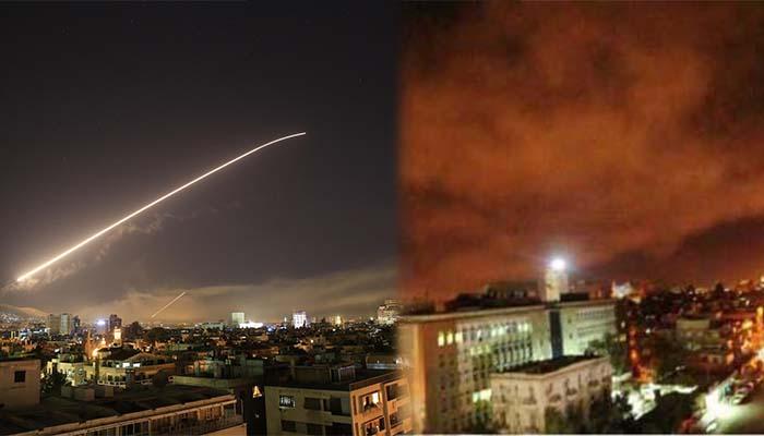ΗΠΑ, Βρετανία και Γαλλία χτύπησαν στόχους στη Συρία στις 4 τα ξημερώματα