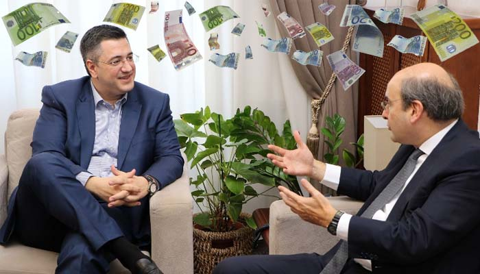 Γιάννης Μαγκριώτης: Στη συνάντηση Τζιτζικώστα-Χατζηδάκη έβρεξε πάλι δις. ευρώ για την κεντρική Μακεδονία
