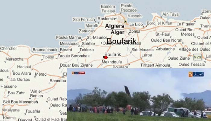 Συντριβή στρατιωτικού αεροσκάφους στην Αλγερία - Φόβοι για 200 νεκρούς
