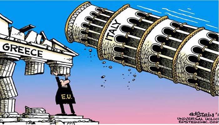 Der Spiegel: Αν η Ελλάδα ήταν ο εκρηκτικός μηχανισμός, η Ιταλία είναι η πυρηνική βόμβα