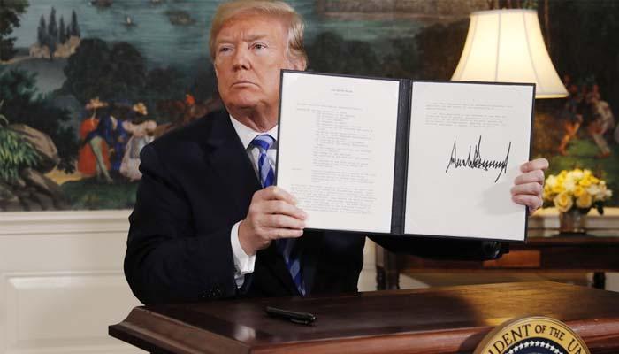 Παγκόσμιοι κλυδωνισμοί μετά την αποχώρηση των ΗΠΑ από την πυρηνική συμφωνία για το Ιράν