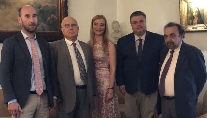 Συνάντηση του Δημάρχου Ιερής Πόλης Μεσολογγίου με τον Πρόεδρο και το Γ.Γ. του Συνδέσμου Ελληνορωσικής Φιλίας και Συνεργασίας