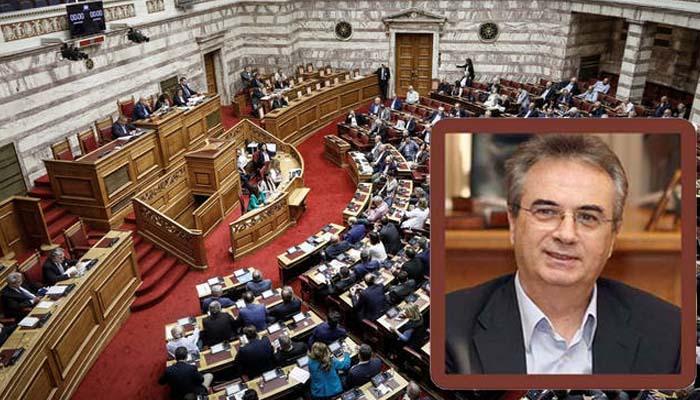 Γιάννης Μαγκριώτης: Η Βουλή έδωσε την εξουσιοδότηση στην κυβέρνηση να υπογράψει τη συμφωνία, η χώρα όμως μπήκε σε βαθύτερη κρίση
