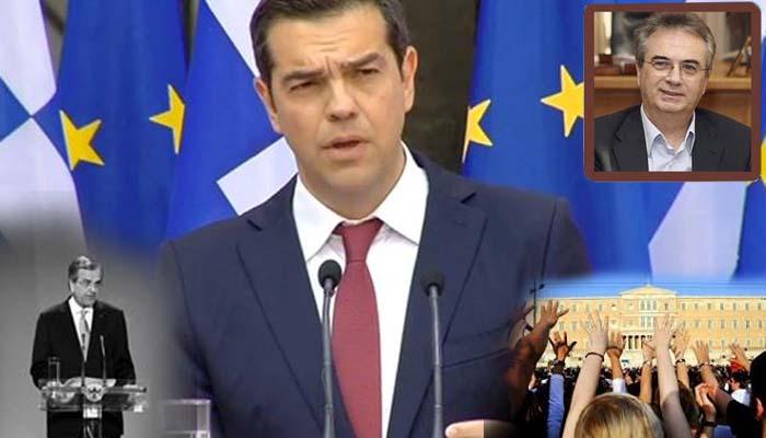 Γιάννης Μαγκριώτης*: Η γραβάτα του πρωθυπουργού ήταν μόνο για το Ζάππειο