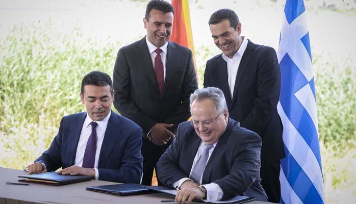 Υπογράφτηκε η ιστορική συμφωνία Ελλάδας - ΠΓΔΜ στις Πρέσπες