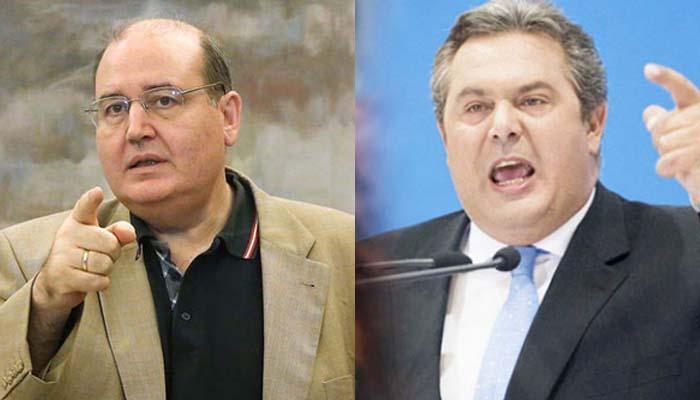 Ο Νίκος Φίλης ζητάει παραίτηση Καμμένου από την κυβέρνηση