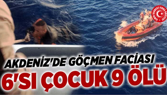 Τραγωδία με πρόσφυγες στη Μεσόγειο - Πνίγηκαν 6 παιδιά και μία γυναίκα
