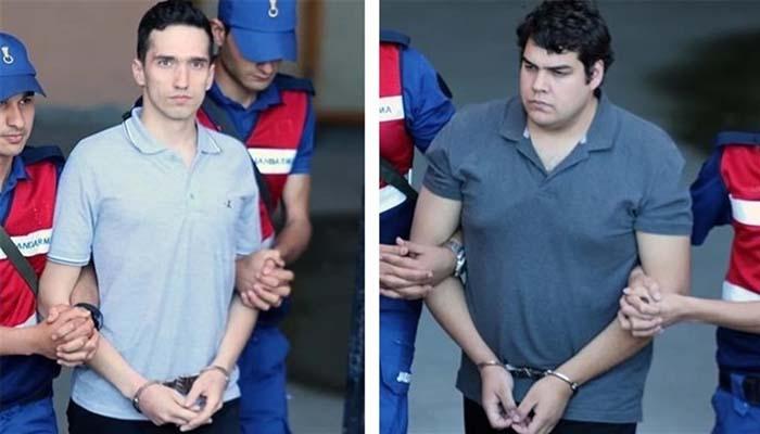 Άγκυρα: Επιστολή βόμβα - Δώστε μας τους 8 για να έχουν δίκαιη δίκη οι 2