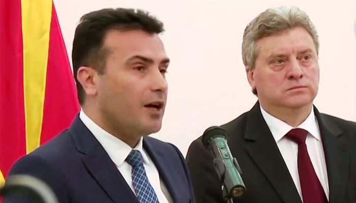 Στο κόκκινο το πολιτικό θερμόμετρο στα Σκόπια: Ο πρόεδρος Ιβανόφ λέει ψεύτη τον Ζάεφ και λέει ΟΧΙ στις Πρέσπες