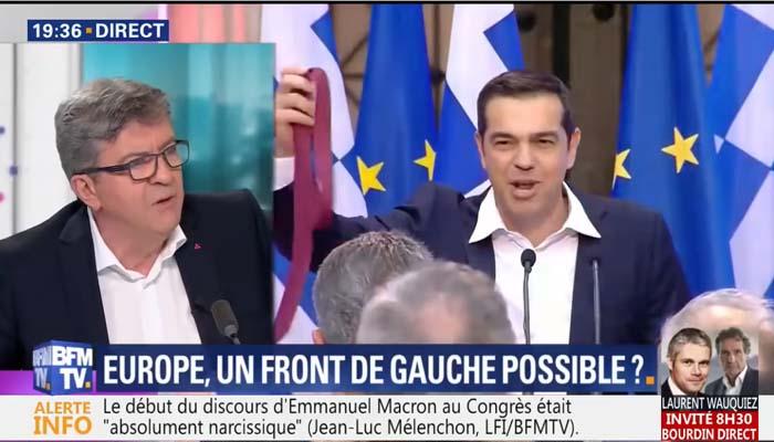 Ζαν Λυκ Μελανσόν: Ο Τσίπρας είναι από τις πιο ελεεινές φιγούρες της ευρωπαϊκής πολιτικής ζωής