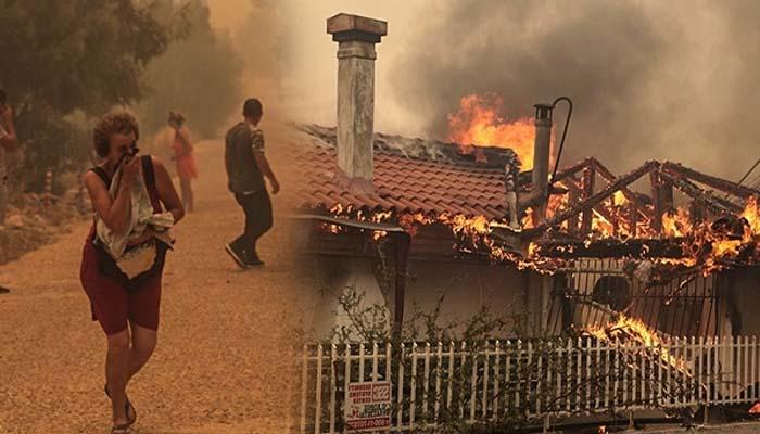 Ανεξέλεγκτες οι φωτιές σε Κινέτα-Πεντέλη -Εκκενώνονται οικισμοί