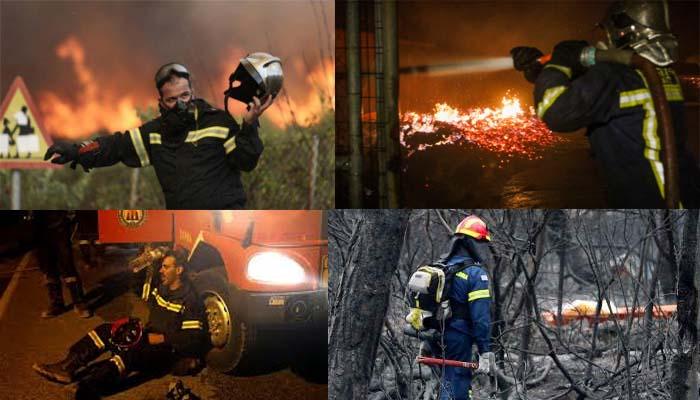 Στους 74 νεκροί, 187 τραυματίες από τη φονική φωτιά στο Μάτι