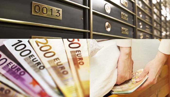 Μετρητά 32,9 δισ. ευρώ κυκλοφορούν ανάμεσά μας και είναι εκτός τραπεζικού συστήματος