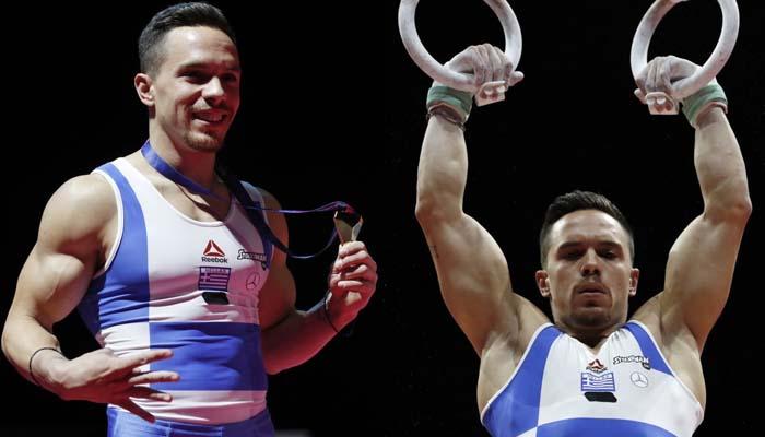 «Χρυσός» ο Λευτέρης Πετρούνιας - Θριάμβευσε στον τελικό των κρίκων στο Ευρωπαϊκό Πρωτάθλημα