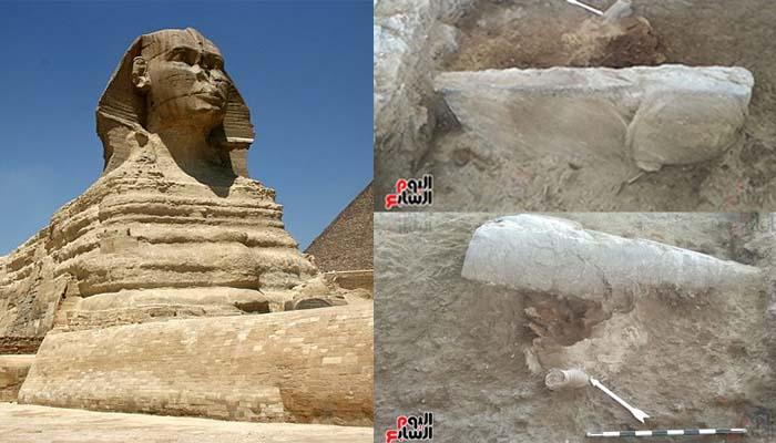 Αίγυπτος: Ανακαλύφθηκε δεύτερη αρχαία αιγυπτιακή Σφίγγα - Πρώτες Εικόνες