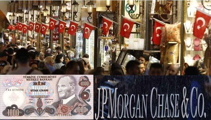 JP Morgan:Ή Τουρκία ή πληρώνει 179 δισ. σε 11 μήνες ή χρεοκοπεί
