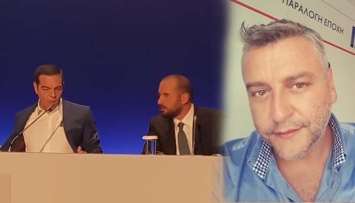 Ζήτησαν προσυνεννόηση για να ρωτήσω τον Τσίπρα στη ΔΕΘ, καταγγέλλει ο δημοσιογράφος Γιώργος Κατσίγιαννης